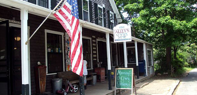ALLEY'S GENERAL STORE West Tisbury MVY cr MVY Chamber of Commerce